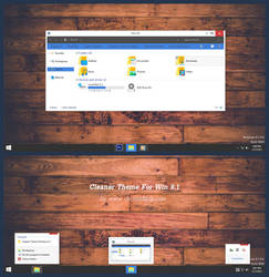 Cleaner Theme Windows 8.1 by Cleodesktop
