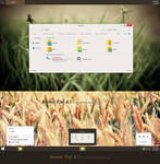 Brown Flat Theme Windows 8.1