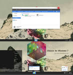 Cleaner  Theme for Windows 7