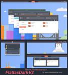 FlattasDark V2 Theme Windows 8.1