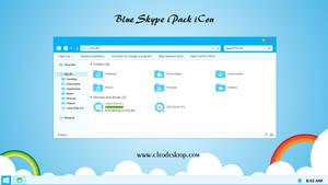 Blue Skype