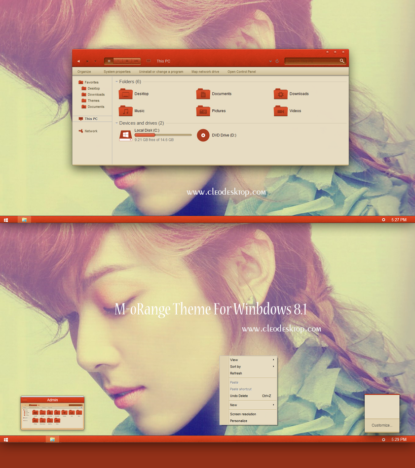 #4 theme for Win7/8.1