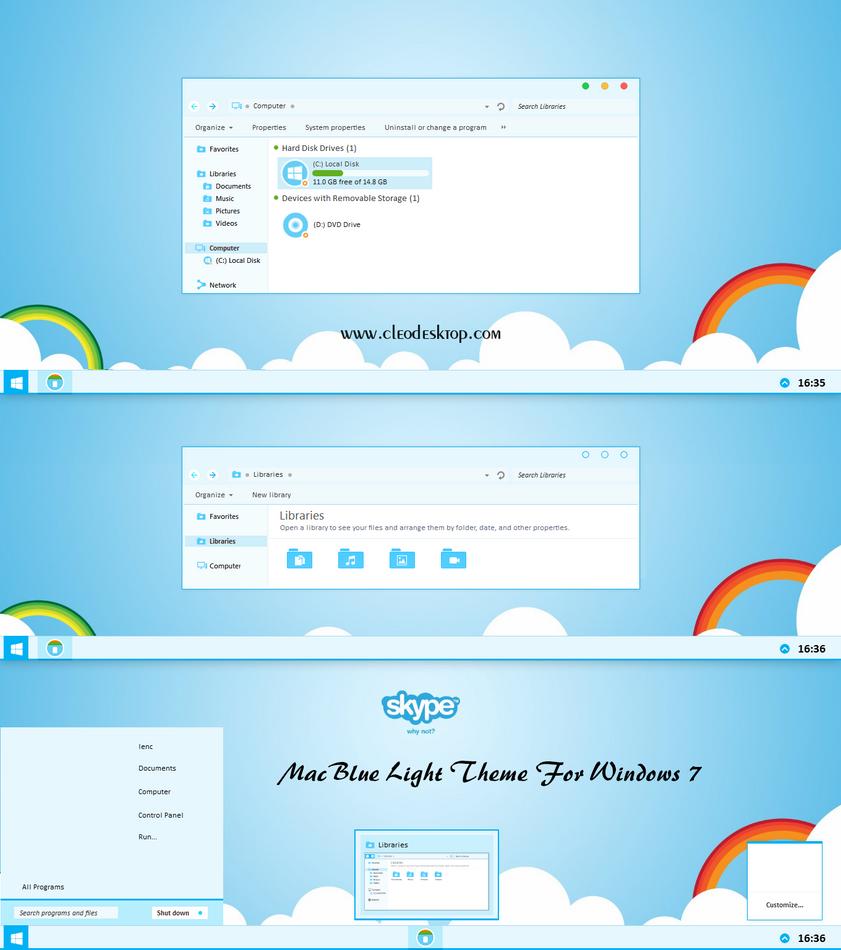 Top 10 Free Windows 7 Desktop Themes