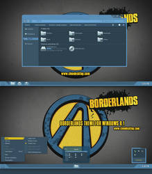 Borderlands Theme For Windows 8.1 by Cleodesktop