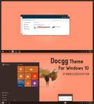 Docgg Theme For Windows 10 RTM by Cleodesktop