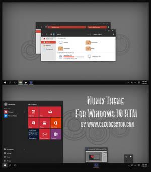 Numix Theme For Windows 10 RTM