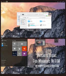 Yosemite Theme For  Windows 10 RTM