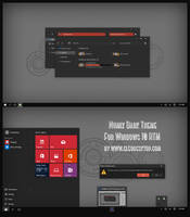 Numix Dark Theme For Windows 10 RTM by Cleodesktop