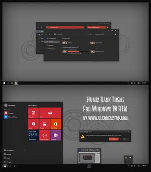 Numix Dark Theme For Windows 10 RTM