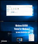 Windows 10 RTM Theme For Windows 7