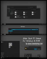 After Dark CC Theme For Windows 10 RTM by Cleodesktop