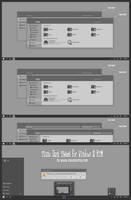 Tiano Dark Theme Windows For Windows10 RTM by Cleodesktop