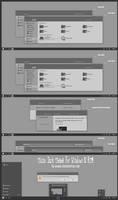 Tiano Dark Theme Windows Windows10 RTM (Update)