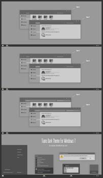 Tiano Dark Theme For Windows 7