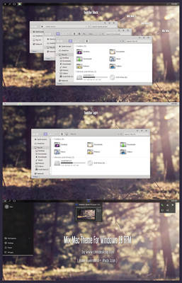 Mix Mac Theme For Windows 10 RTM