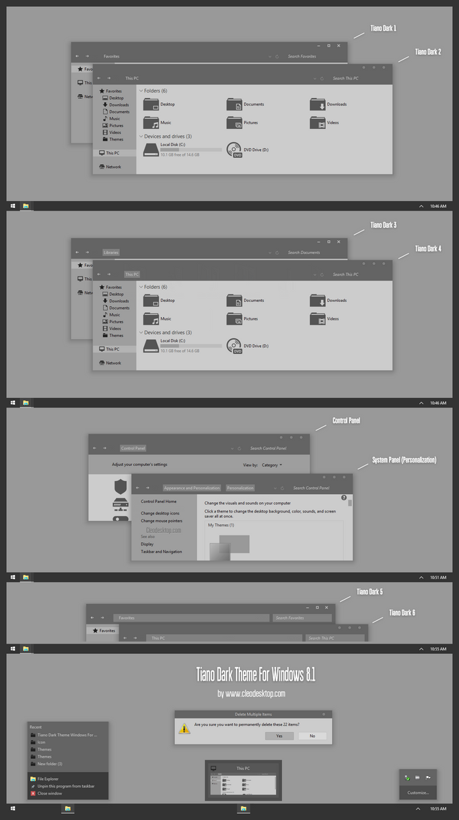 Tiano Theme for Win8/8.1