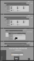Tiano Dark Theme For Windows 10 November Update