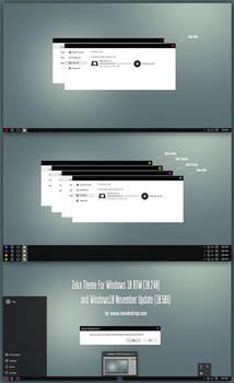 Zeka Theme For Windows 10 November Update