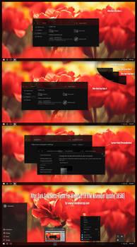 After Dark Gray Glass Theme For Windows10  RTM Nov