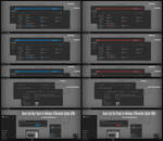 Numix Dark Blue and Red Theme Windows10 Update1