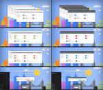 Flattastic  FlattasDark V2 Theme Windows10 TH2
