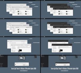Yosem Light Theme For Win10 Build 10586 aka 1511 by Cleodesktop