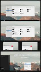 Nost MetroTheme Win10 Anniversary Update by Cleodesktop