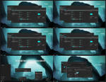 Dark Cyan Alpha Theme Win10 Anniversary Update