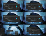 Dark Blue Alpha Theme Win10 Anniversary Update