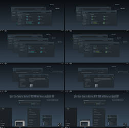 Splash Cyan, Green For Win10 Anniversary Update1 by Cleodesktop