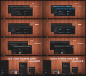 Nulito Dark Theme Win10 Anniversary Update1 by Cleodesktop