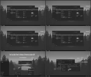 Dark Gray Alpha Theme Win10 Anniversary Update by Cleodesktop