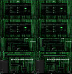 Matrix Grand Green Theme Win10 Anniversary Update