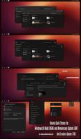 Ubuntu Dark Theme Win10 Creators Update