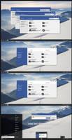 Facebook Theme For Windows 10