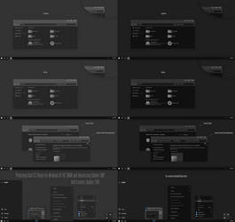 Photoshop Dark CC Theme Win10 Creators Update by Cleodesktop