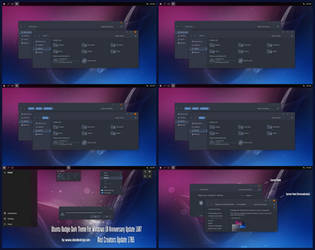 Ubuntu Budgie Dark Theme Win10 Creators Update by Cleodesktop