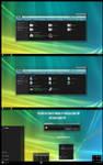 Vista Dark Aero Theme Win10 Creators Update