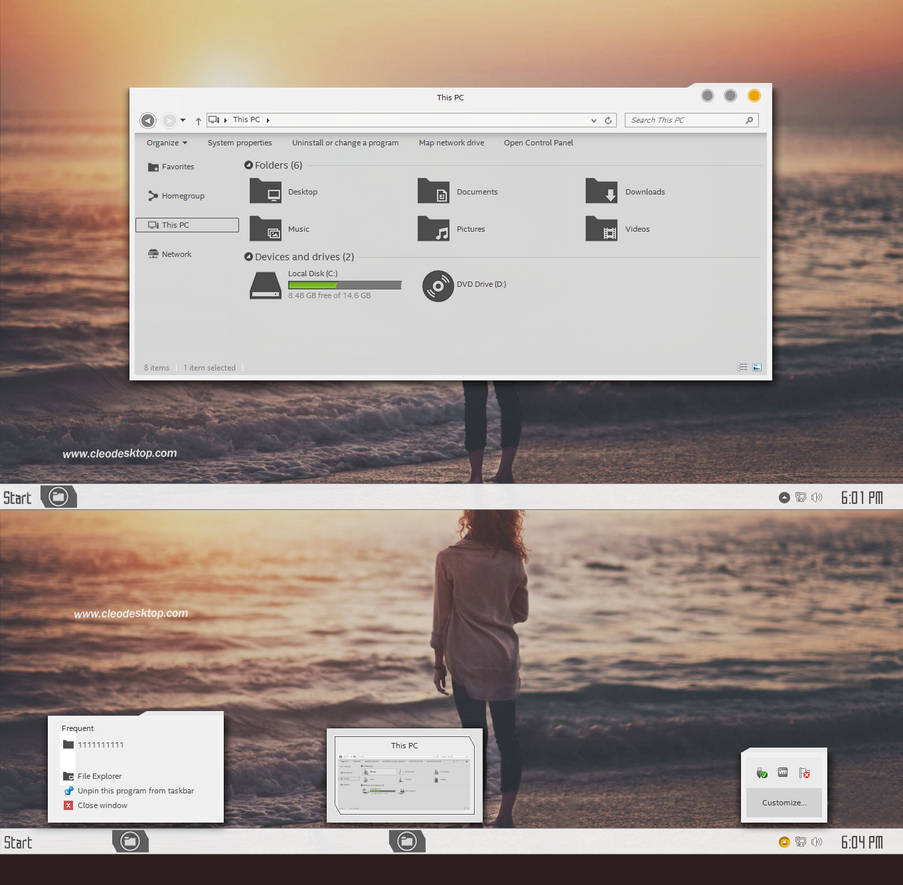 SAO Theme Windows 8 1 by Cleodesktop on DeviantArt
