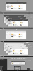 Kaamix Theme Win10 Fall Creators by Cleodesktop