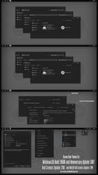 Yosem Dark Theme Win10 Fall Creators by Cleodesktop