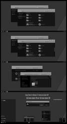Hangy Theme Win10 Fall Creators by Cleodesktop