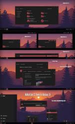 No0kaA Dark CC Theme Win10 Fall Creators by Cleodesktop