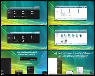 Vista Dark and Light Theme Win10 Fall Creators by Cleodesktop