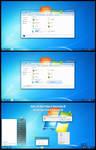 Windows 7 Aero Theme Win10 Fall Creators