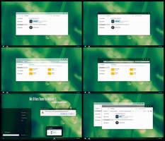 Win10 Aero Theme For Windows 7 by Cleodesktop