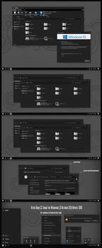 After Dark CC Theme Win10 1809 by Cleodesktop
