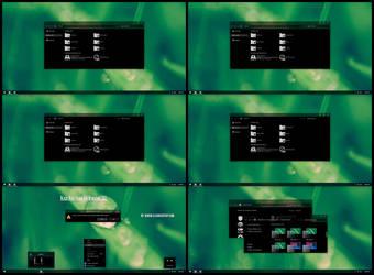 Black Aero Theme For Windows 8.1 by Cleodesktop
