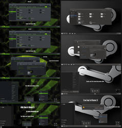 Steam and nVidia Theme Win10 May 2019 Update 1903 by Cleodesktop
