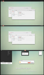 Numix Minimal Theme Win7up1 by Cleodesktop